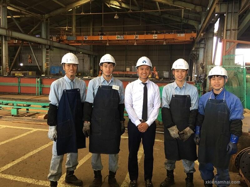 Cán bộ TTC đến thăm thực tập sinh ở Nhật Bản