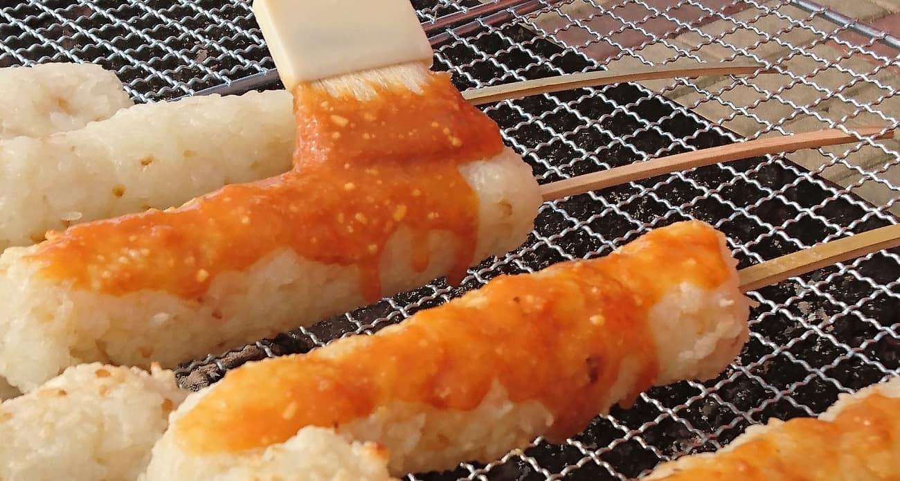 cơm nướng kiritanpo tỉnh Akita