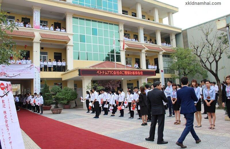 Công ty TTC Việt Nam đón tiếp doanh nghiệp từ Nhật Bản
