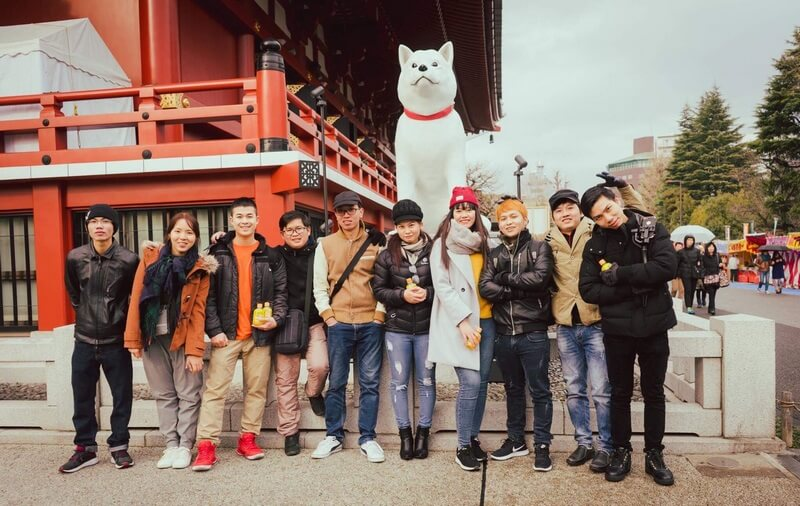 Cuộc sống của thực tập sinh ở Nhật Bản 1