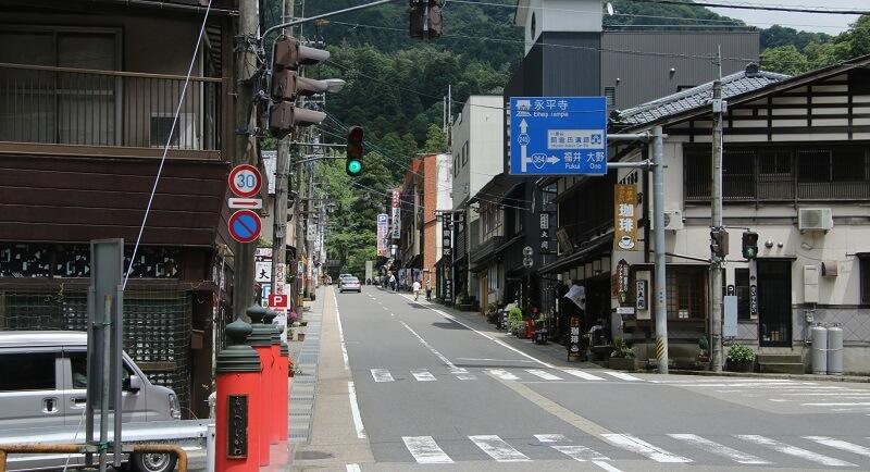Không khí trong lành và mát mẻ tại tỉnh Fukui