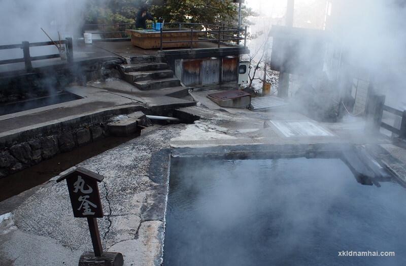 Khu suối nước nóng Nozawa