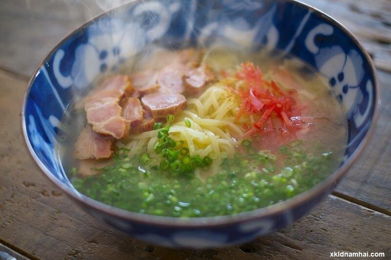 món soki soba nổi tiếng tỉnh Okinawa