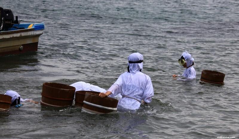 ngư dân tỉnh Mie nhật bản