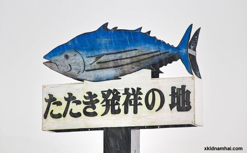 Rượu và cá là đặc trưng của tỉnh Kochi Nhật Bản