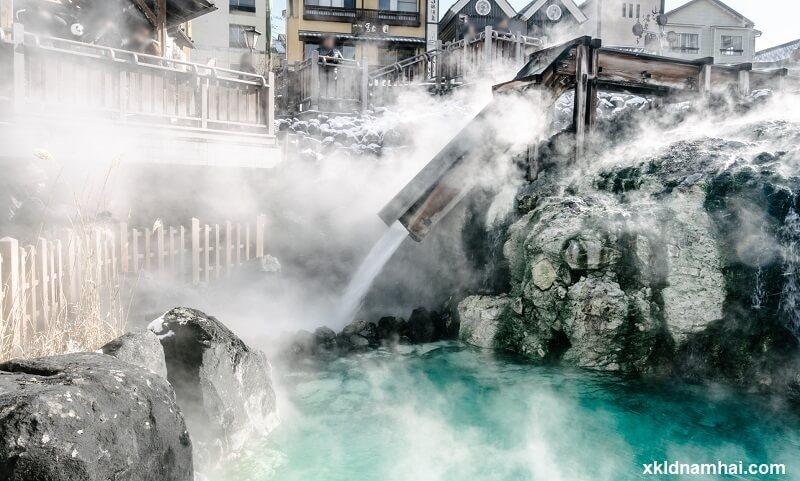 suối nước nóng ở tỉnh Gunma