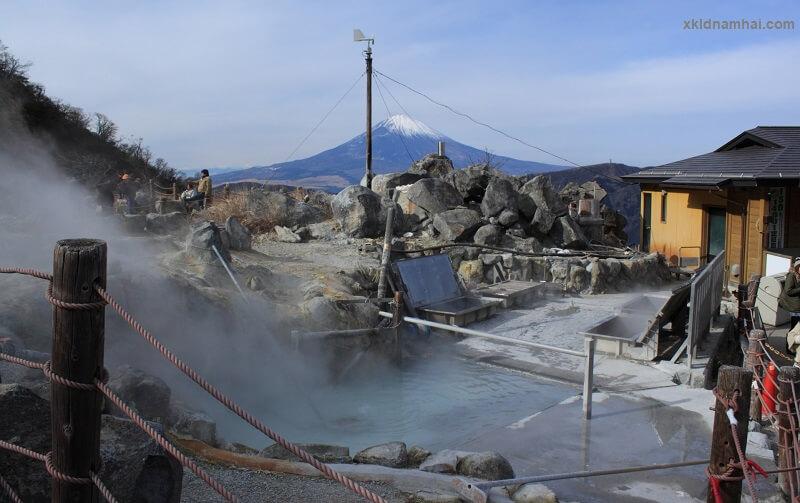 suối nước nóng tỉnh kanagawa