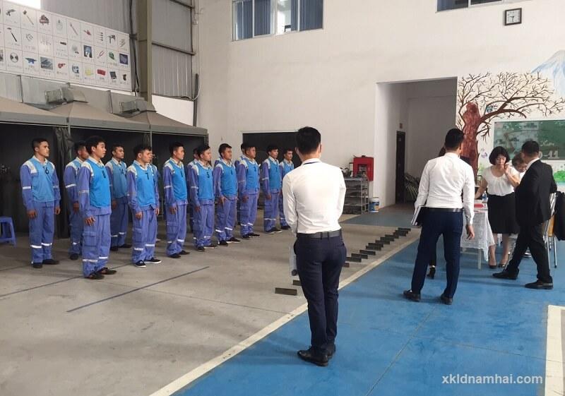 Tham gia thi tuyển xuất khẩu lao động Nhật Bản