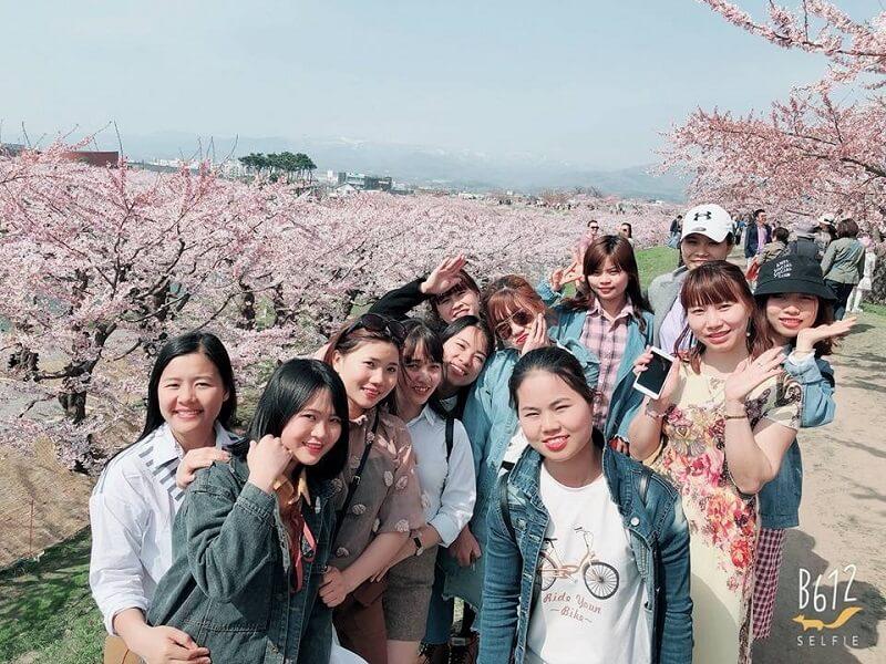 thực tập sinh tại Nhật Bản
