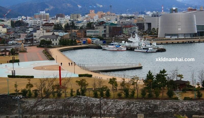 Tỉnh Fukui nằm trên đảo Honshu