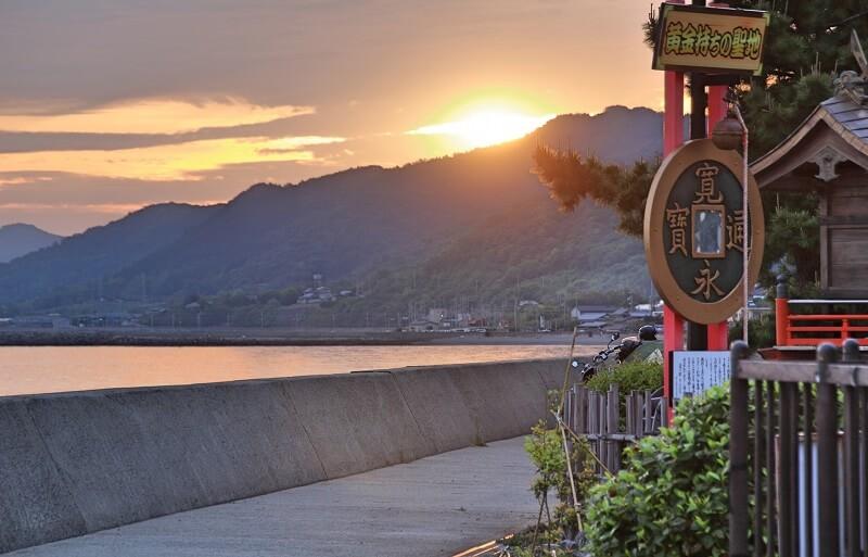 Tỉnh Kagawa giáp biển