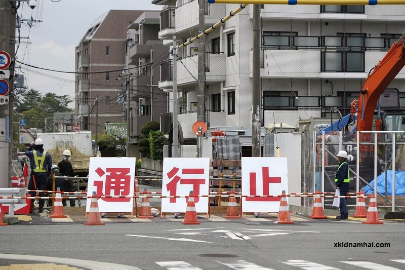 an toàn lao động tại công trường xây dựng Nhật Bản