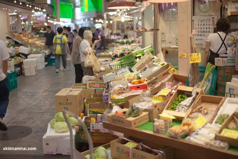 Chợ Ohmicho Tỉnh Ishikawa