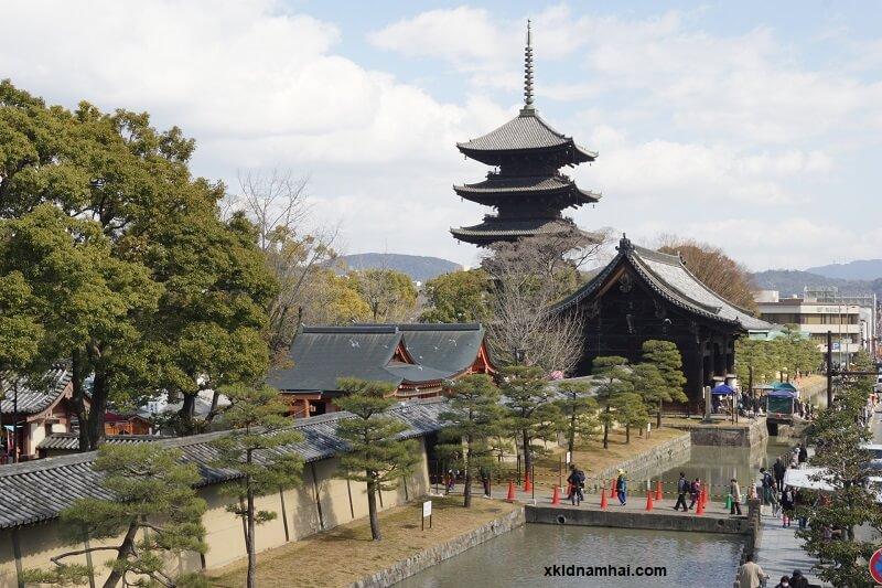 Chùa Toji tỉnh Kyoto