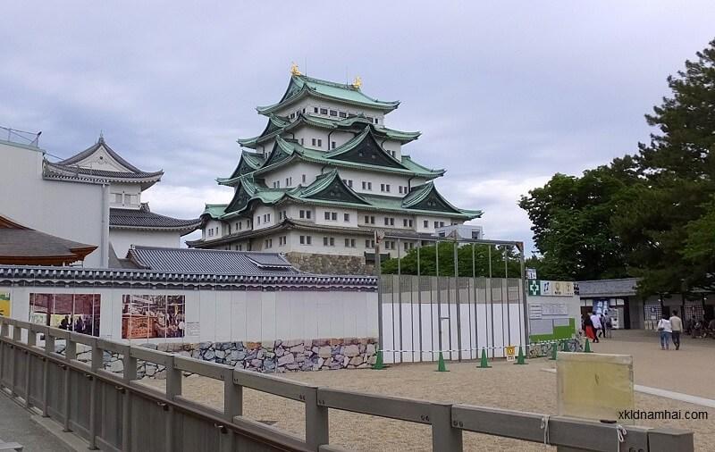Lâu đài ở Nagoya