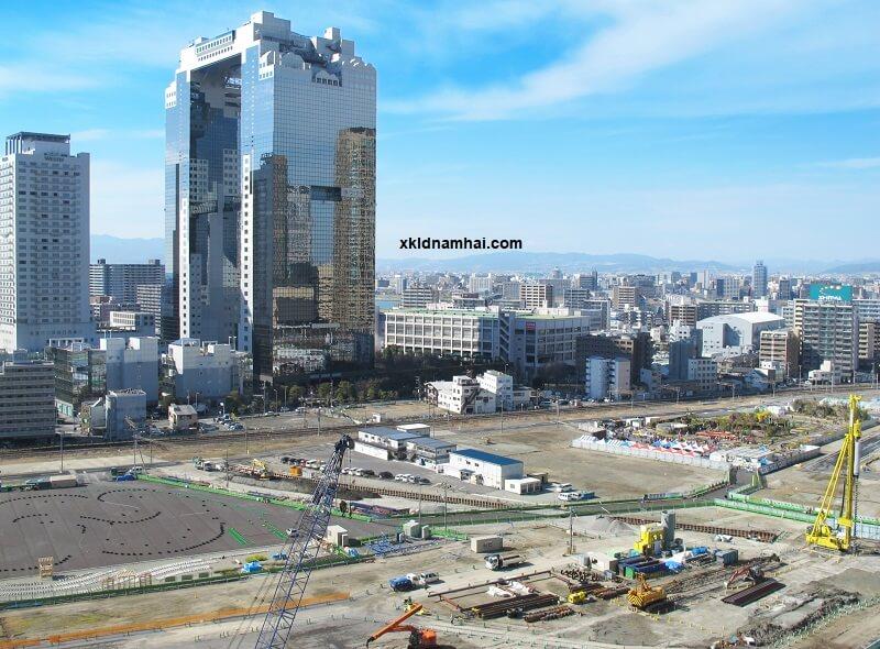 môi trường làm việc ngành xây dựng Nhật Bản