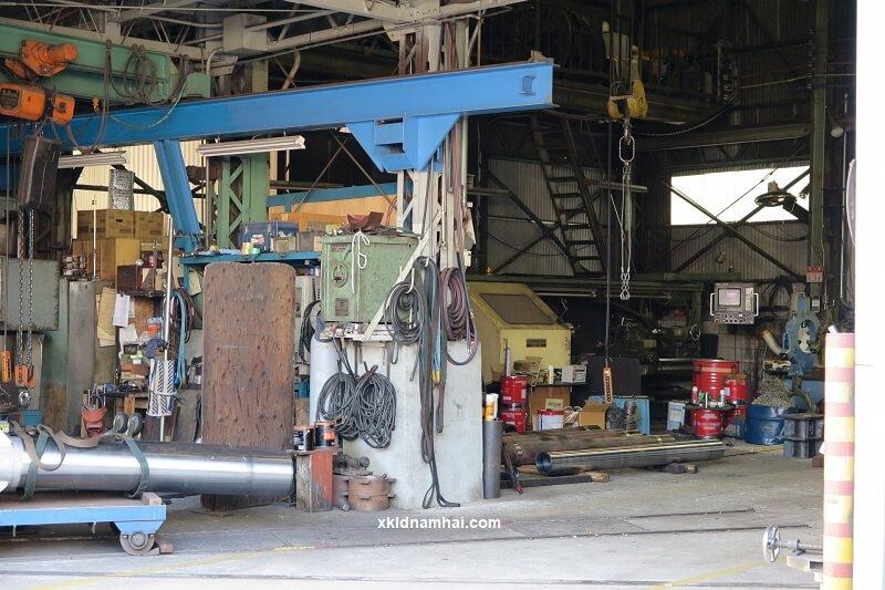 Một công xưởng cơ khí nhỏ ở Nhật Bản
