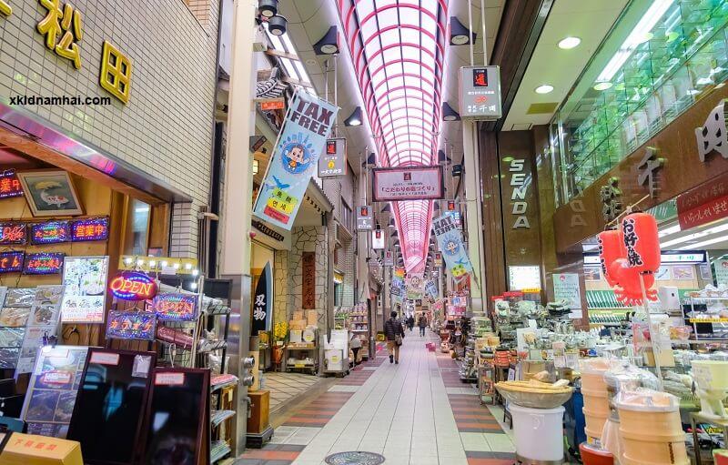 Mua sắm tại Osaka