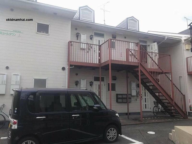 nhà ở của thực tập sinh tai Nhật Bản