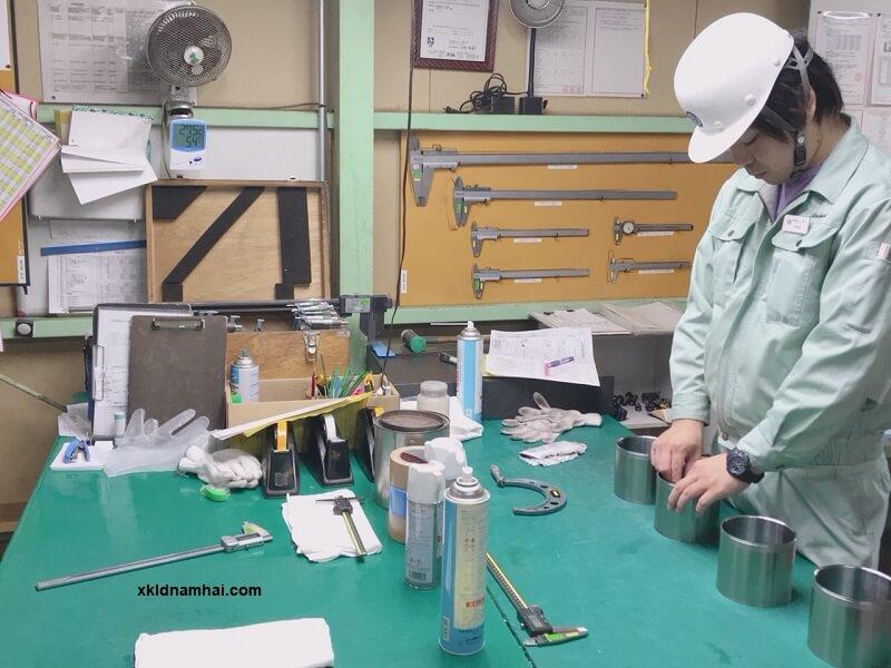 thực tập sinh ngành cơ khí Nhật Bản