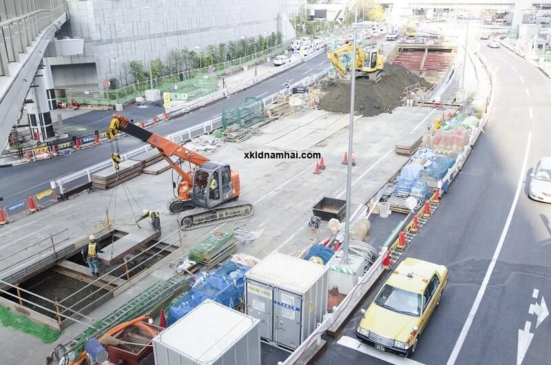 thực tập sinh ngành xây dựng ở Nhật Bản