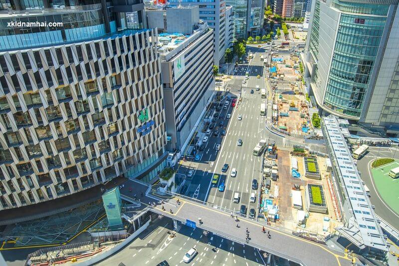 Trung tâm thành phố Osaka
