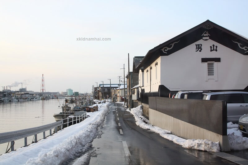 mùa đông tỉnh Aomori Nhật Bản