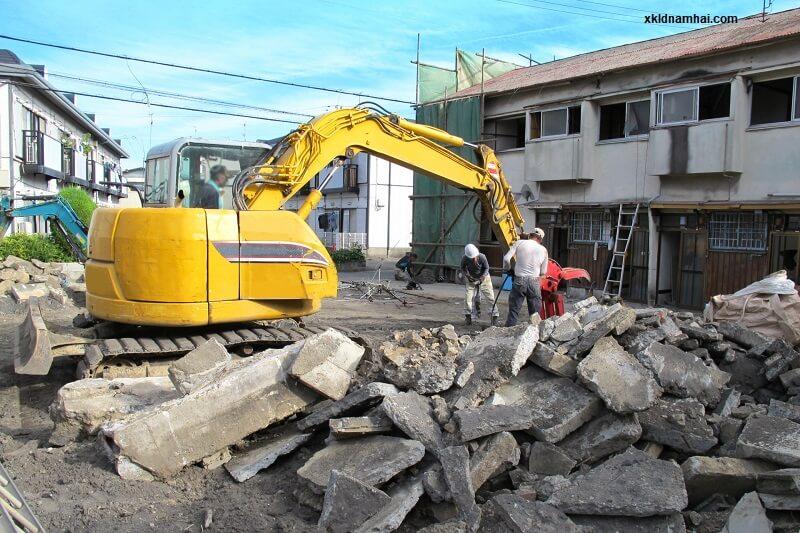 xây dựng ở Nhật Bản