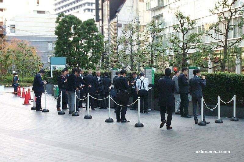 Khu vực hút thuốc lá ở Nhật Bản