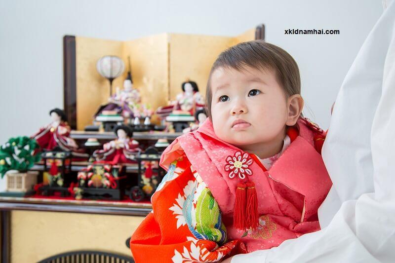 Lễ hội búp bê dành cho bé gái ở Nhật Bản