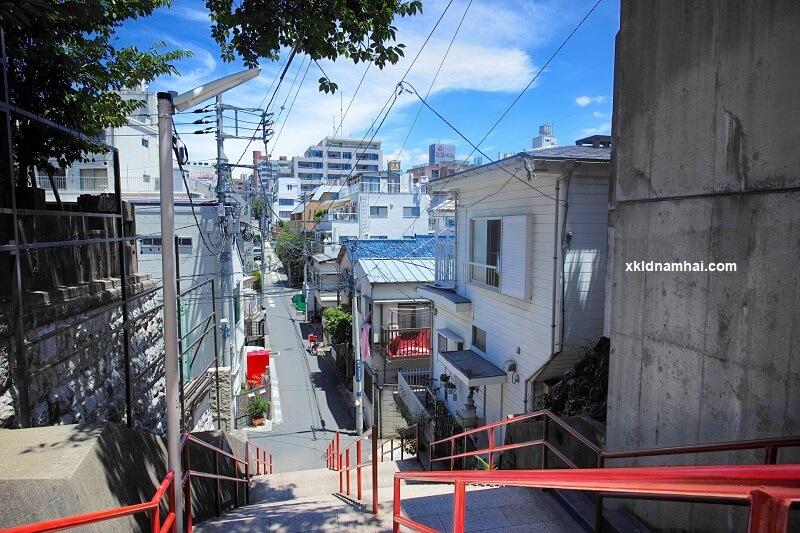 Đường phố ở Nhật Bản