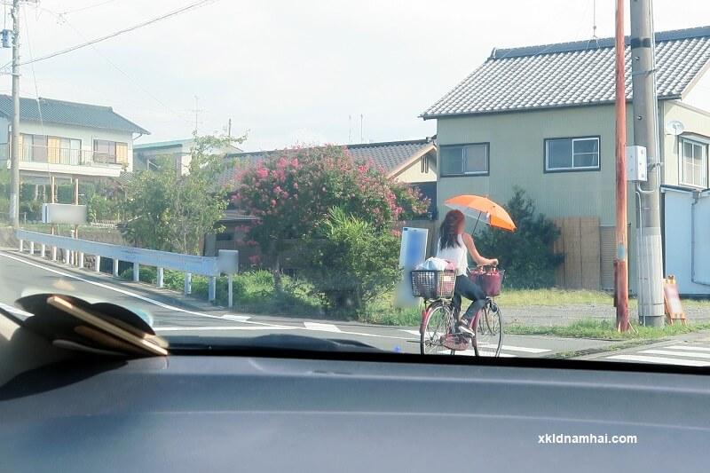 Người Nhật rất thích sử dụng xe đạp