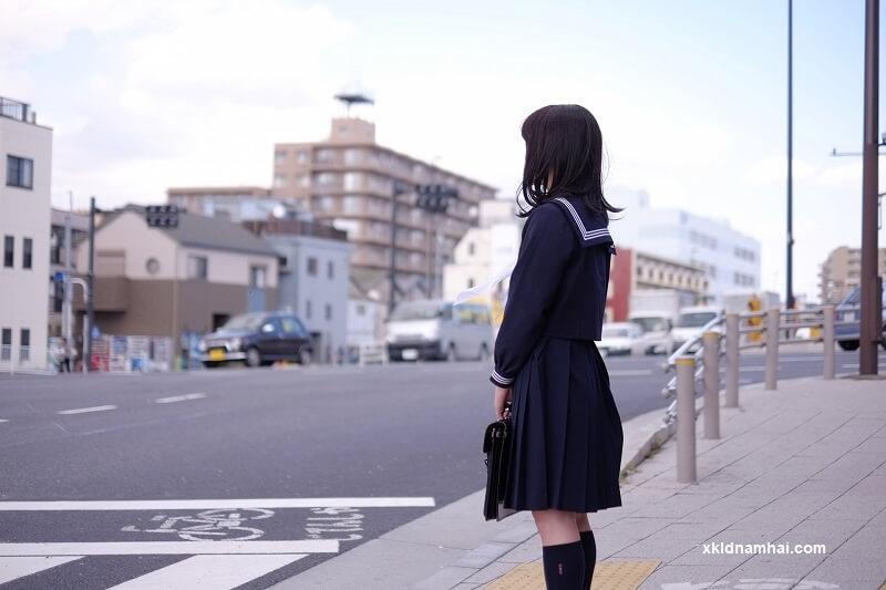 Nữ sinh trung học Nhật Bản