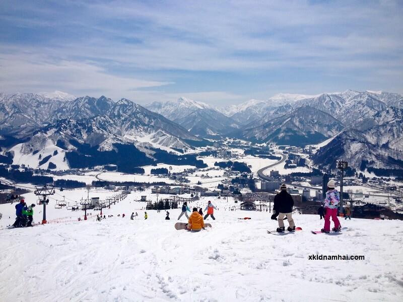 Trượt tuyết ở đảo Hokkaido