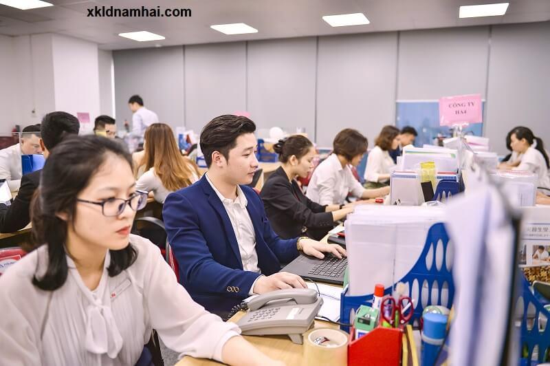 Cán bộ - nhân viên công ty cổ phần nhân lực IPM Việt Nam