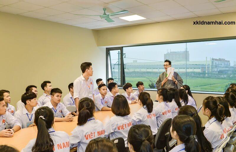 Ảnh chụp tại công ty cổ phần nhân lực IPM Việt Nam - XKLDNAMHAI HR