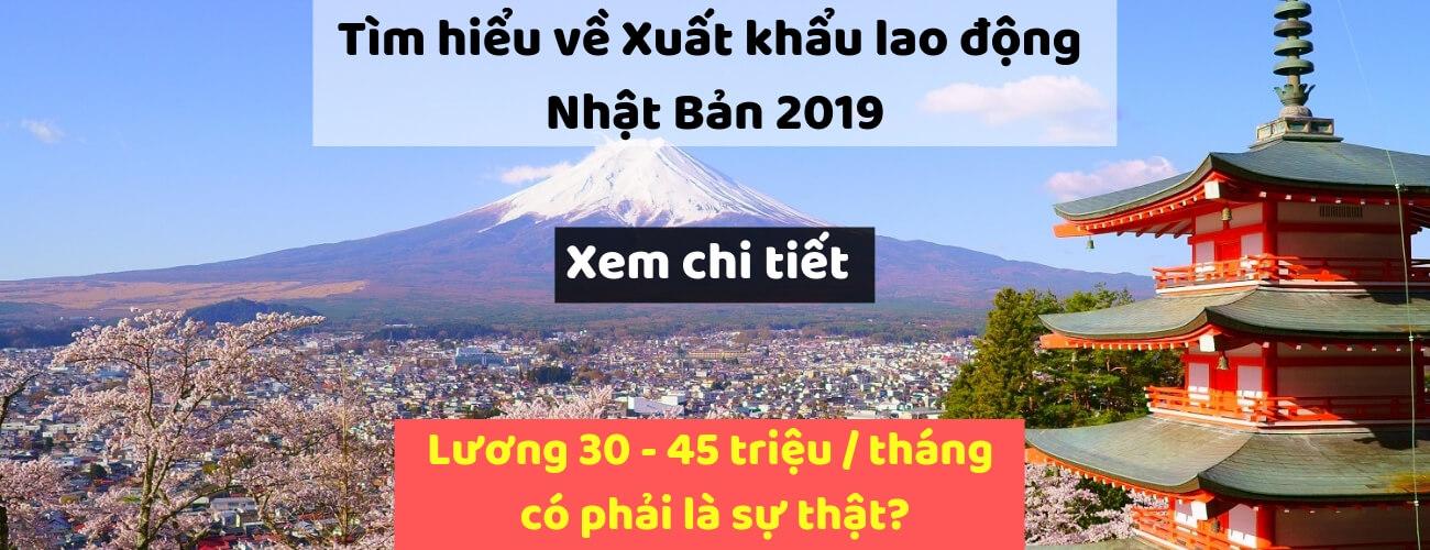 XKLD Nhật Bản 2019