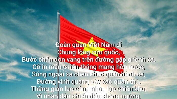 Quốc ca của nước CHXHCN