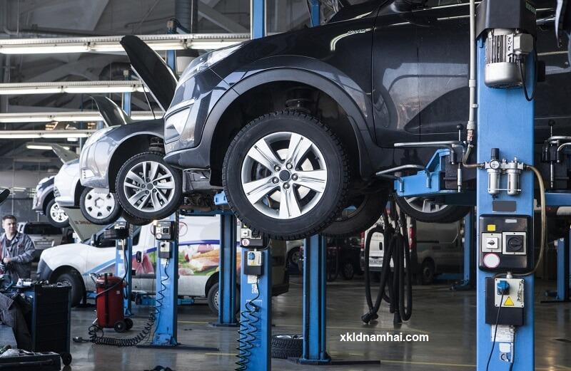 Sửa chữa, bảo dưỡng ô tô xuất khẩu lao động