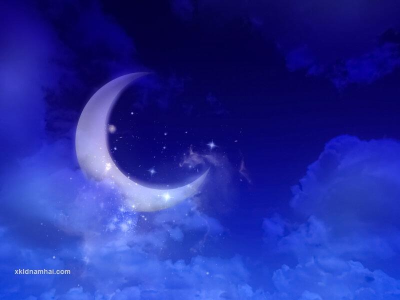 Chúc ngủ ngon hoa văn hơn một chút