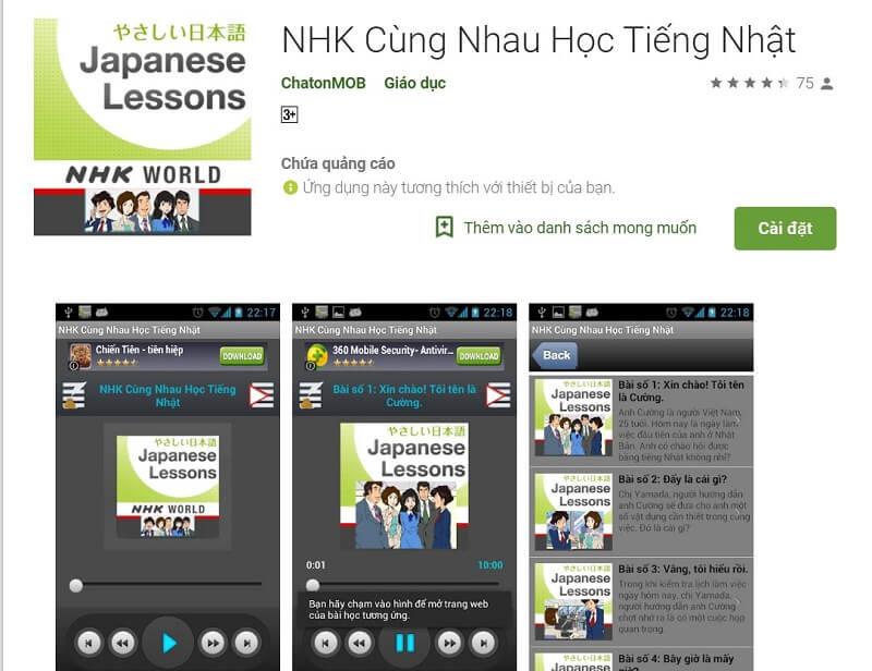 NHK Cùng Nhau Học Tiếng Nhật