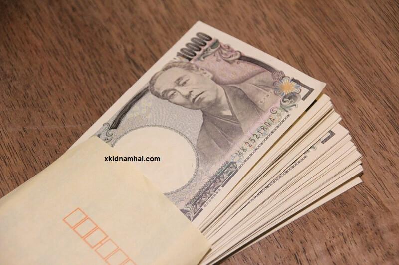 Thu nhập khi làm việc ở Nhật Bản khá cao