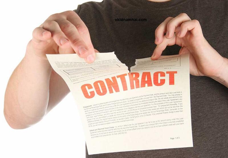 hủy hợp đồng xuất khẩu lao động